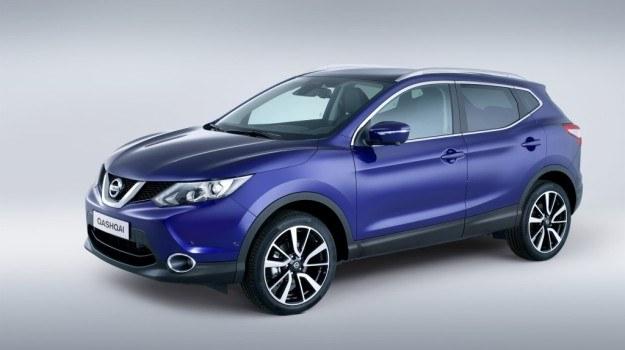 Za dopłatą nowy Nissan Qashqai będzie oferowany z 19-calowymi alufelgami oraz z LED-owymi przednimi lampami. /Nissan
