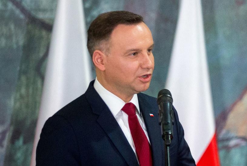 Za granicą napisano o potępieniu rasizmu i ksenofobii przez prezydenta Andrzeja Dudę /Andrzej Grygiel /PAP