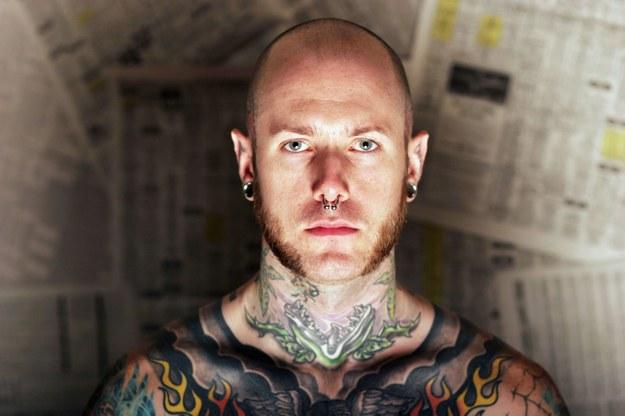 Za każdy tatuaż możesz zostać pozwany z osobna /©123RF/PICSEL