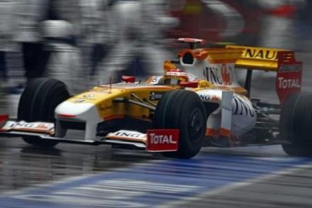 Za kierownicą Fernando Alonso /AFP