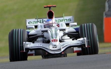 Za kierownicą Jenson Button /AFP