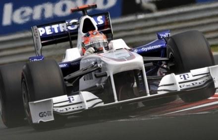 Za kierownicą nasz jedynak w F1 - Robert Kubica z BMW Sauber /AFP