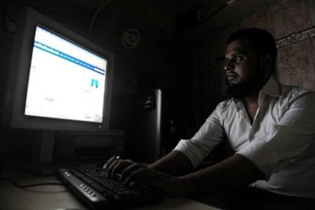 """Za """"obrazę boskiej mocy"""" palestyńskiemu internaucie grozi dożywocie /AFP"""