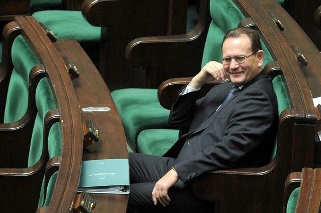 Za referendum chce głosować m.in. Eugeniusz Kłopotek /Michał Rozbicki /Agencja SE/East News