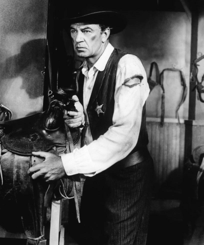 """Za sprawą kreacji szeryfa Willa Kane'a z """"W samo południe"""" przeszedł do historii kina /materiały prasowe"""
