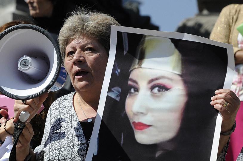 Zabójstwo 16-letniej Marii Fernandy Rico wstrzasnęło społeczeństwem /Pedro Pardo / AFP /AFP