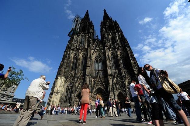 Zabytkowa katedra w Kolonii /AFP/Agencja FORUM