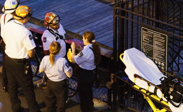 Zabytkowy samolot spadł do rzeki Hudson. Zginął pilot