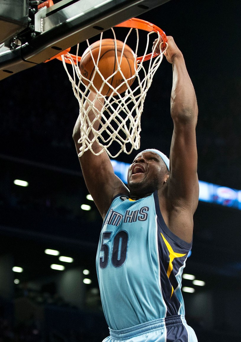 Zach Randolph ostatnio występował w Memphis Grizzlies /AFP