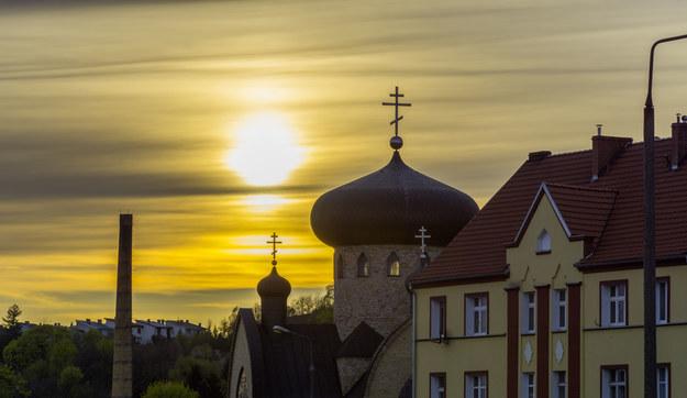 Zachód słońca w Gorzowie Wielkopolskim /123/RF PICSEL