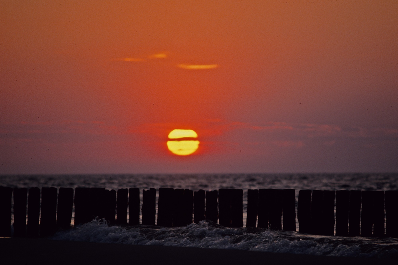 Zachód słońca w Karwii /Marek Michalak /123RF/PICSEL