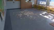 Zachodniopomorskie: W czasie lekcji tynk z sufitu spadł na dwie uczennice