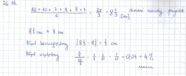 Zadanie 26 rozwiązanie /INTERIA.PL