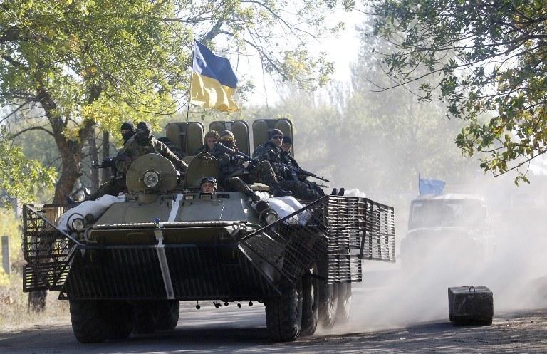 Zadecydowano o zatrzymaniu się oddziałów i sił wojskowych obu stron na linii według stanu z piątku /AFP
