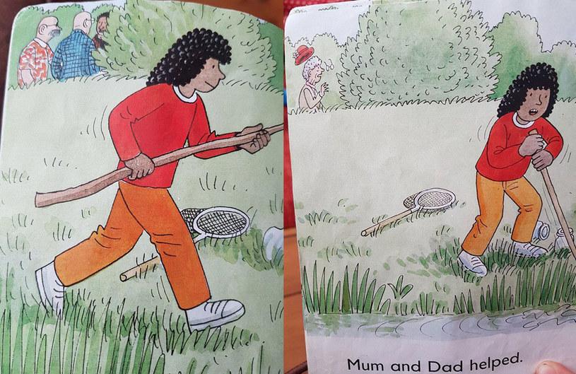 Zagadkowa ilustracja w książce dla dzieci /Mashable.com /