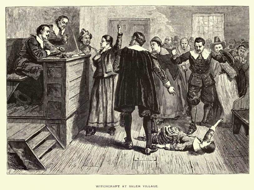 Zagadkowe urojenia nawiedziły początkowo tylko kilka dziewcząt. Ale wkrótce histeria rozprzestrzeniła się niczym zaraza po całym Salem, ajej kulminacją było krwawe polowanie na czarownic /materiały prasowe