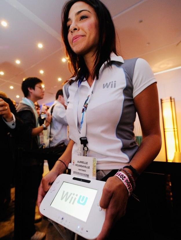 Zagrać na Wii z tą panią? Marzenie każdego mężczyzny, nie tylko gracza :-) /AFP