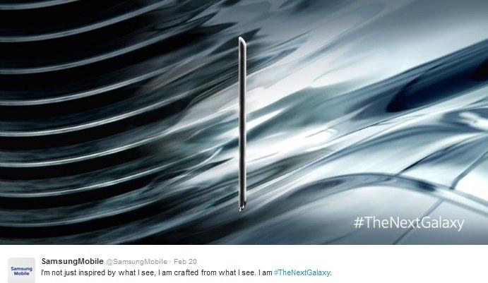 Zajawka Galaxy S6 z oficjalnego profilu Samsung Mobile /materiały prasowe