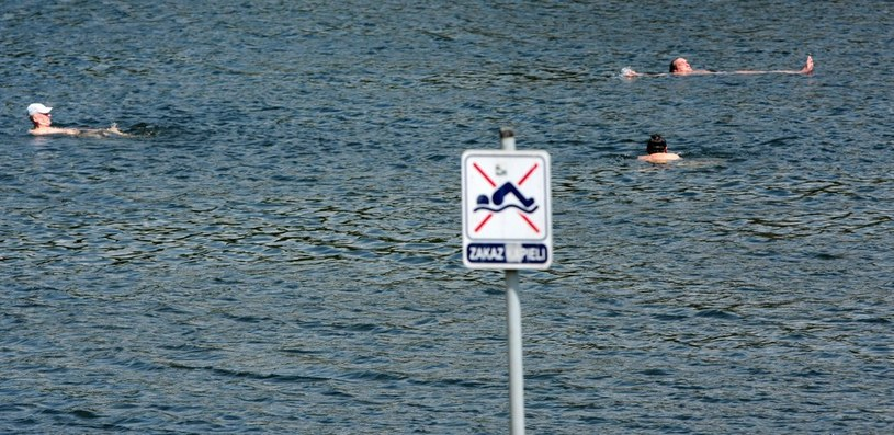 Zakaz kąpieli (zdjęcie ilustracyjne) /Hubert Matys /Reporter