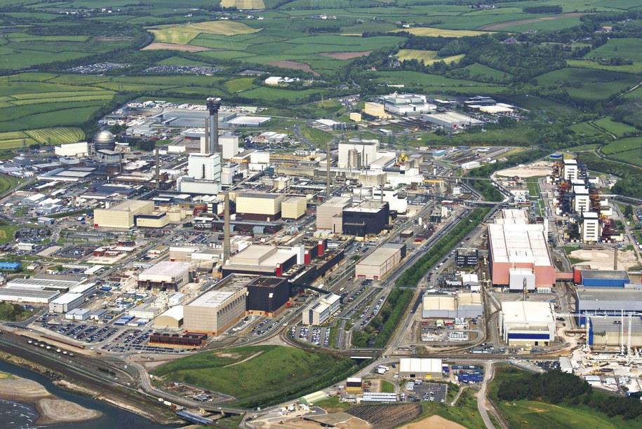 Zakład w Sellafield /SELLAFIELD LTD / HANDOUT /PAP/EPA