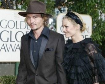 Zakochana para - Johnny i Vanessa /AFP