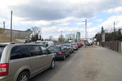Zakorkowane drogi na poznański stadion