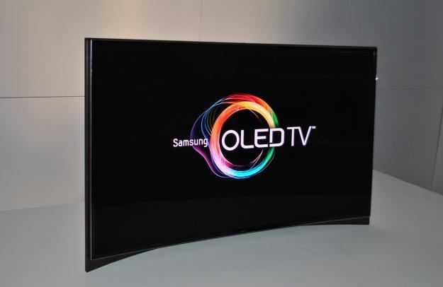 Zakrzywiony OLED Samsunga - wygląda ciekawie, ale to nie jest jakaś rewolucja /INTERIA.PL