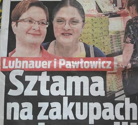 """Zakupy ponad podziałami - relacjonuje """"Fakt"""" /INTERIA.PL"""