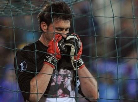 Załamany Pato Abbondanzieri. Getafe-Bayern 3:3 /AFP