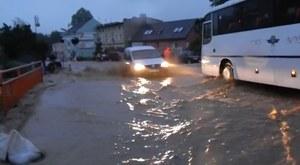 Zalane Głuchołazy na Opolszczyźnie. Powódź u Czechów