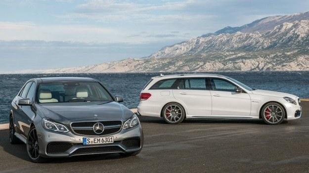 Zależnie od wersji, E 63 AMG porusza się na 18- lub 19-calowych obręczach. /Mercedes