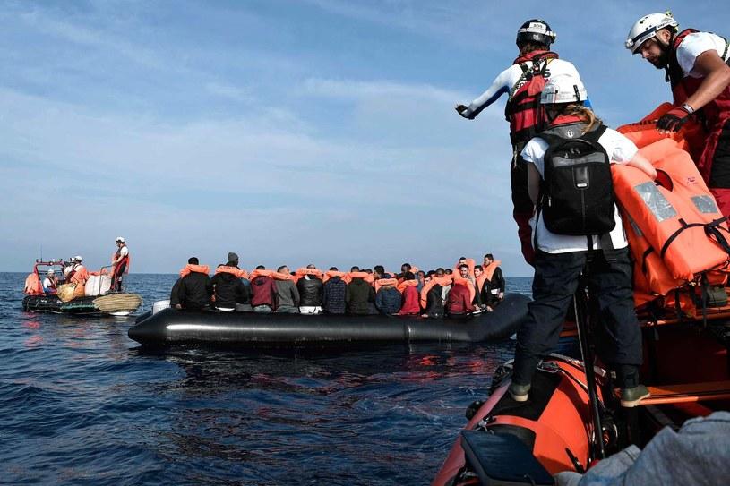 """Załoga """"Aquariusa""""  zawiadomiła, że warunki na nim uniemożliwiają samodzielny rejs przez Morze Śródziemne i bezpieczne dotarcie do portu w Walencji; (Zdjęcie ilustracyjne) /AFP"""