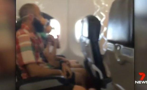 Załoga samolotu wpadła w histerię. Pasażerowie: Potem już wszyscy panikowali