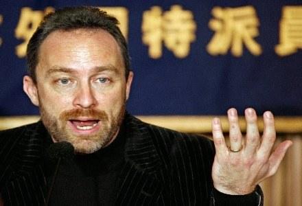 Założyciel Wikipedii -  Jimmy Wales /AFP