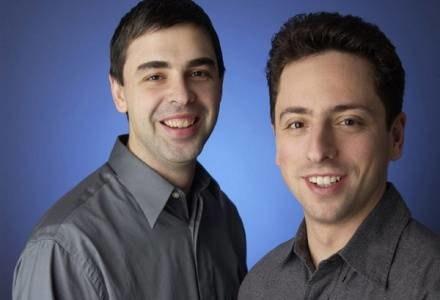 Założyciele Google Larry Page i Siergiey Brin /AFP