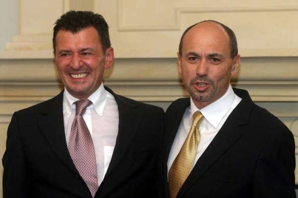 Założyciele J&S - Jankilewicz (z  lewej) i Smołokowski; fot. Jan Żdżarski jr /Agencja SE/East News