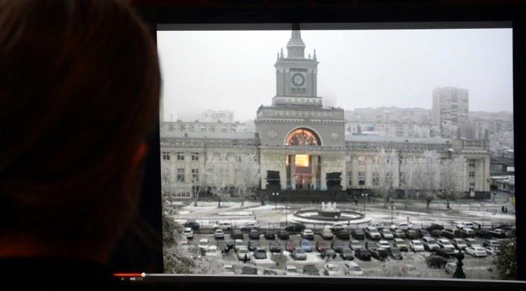 Zamach bombowy na dworcu kolejowym w Wołgogradzie /AFP