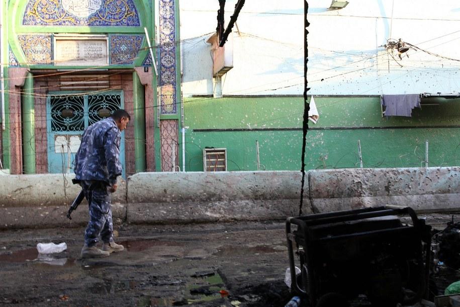Zamach w Bagdadzie /ALI ABBAS /PAP/EPA
