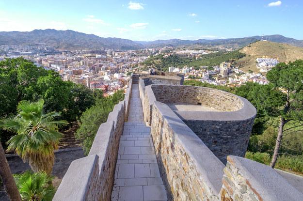 Zamek Gibralfaro w Maladze /123/RF PICSEL