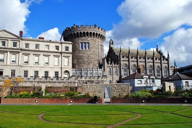 Zamek w Dublinie /123/RF PICSEL