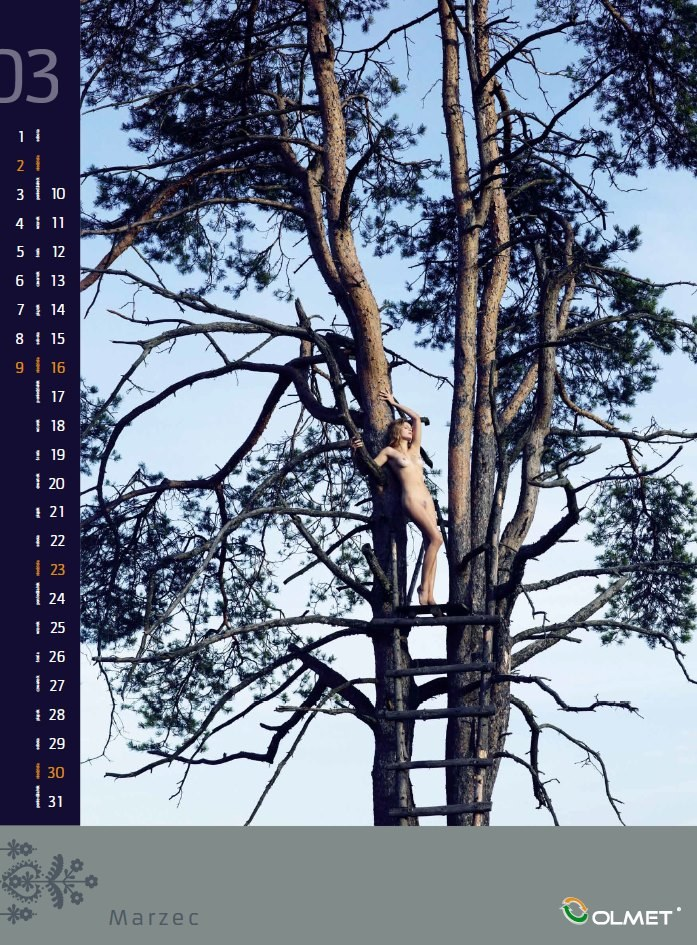 Zamiast folklorystycznej stylizacji - naturalne piękno kobiecego ciała /Marek Straszewski /materiały prasowe