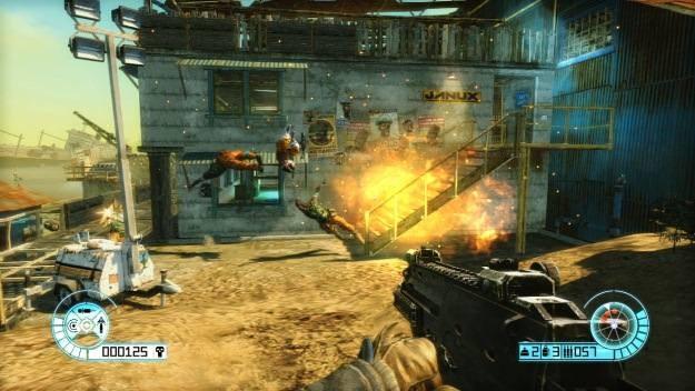 Zamiast rozbudowanej fabuły gracz dostaje potężny arsenał broni i prosty cel - zlikwidować wroga /CDA
