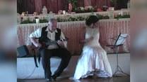Zamiast weselnego tańca, zrobili coś niesamowitego
