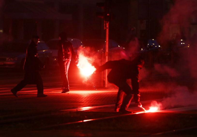 Zamieszki na Marszu Niepodłegłości /Tomasz Gzell /PAP