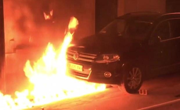 Zamieszki w Paryżu po proteście przeciwko brutalności policji