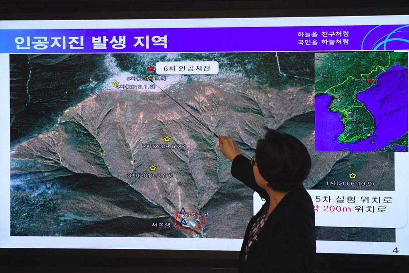 Zaniepokojeni serią wstrząsów są eksperci /AFP