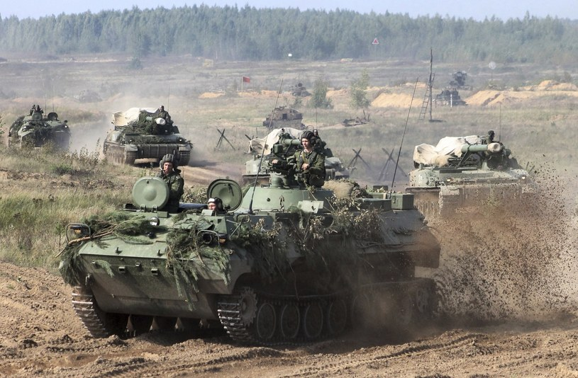 """""""Zapad-17"""" to największe tegoroczne manewry wojsk rosyjskich /Vayar Military Agency /East News"""