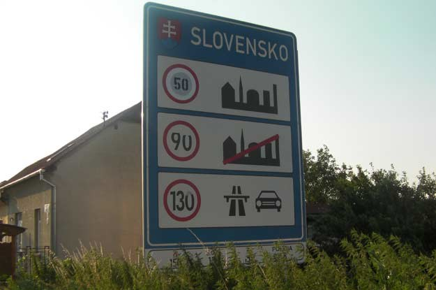 Zapamietaj ile możesz jechać po słowackich drogach! /