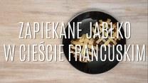 Zapiekane jabłka z ciastem francuskim