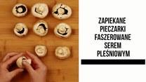 Zapiekane pieczarki z serem